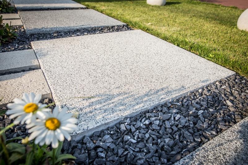 płyta tarasowa Quadra Maxi z betonu płukanego