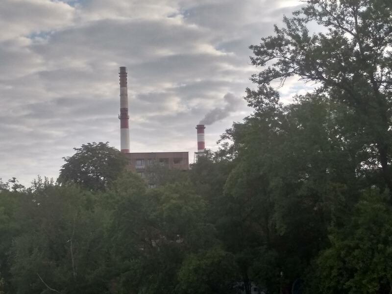 zdjęcie obrazujące zanieczyszczenie powietrza