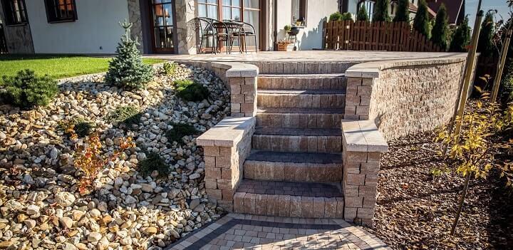 schody palisada split