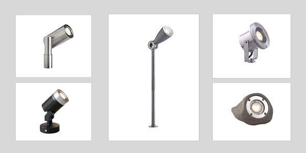 typy reflektorw ogrodowych